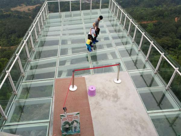 重庆观景平台施工多少钱,观景