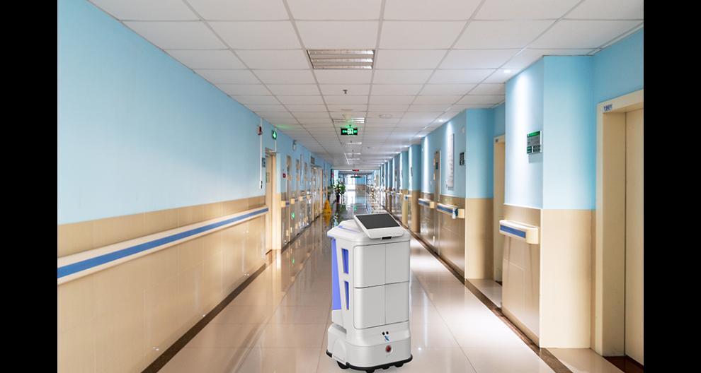 青岛楼宇配送机器人怎么样 昆山新正源机器人供应