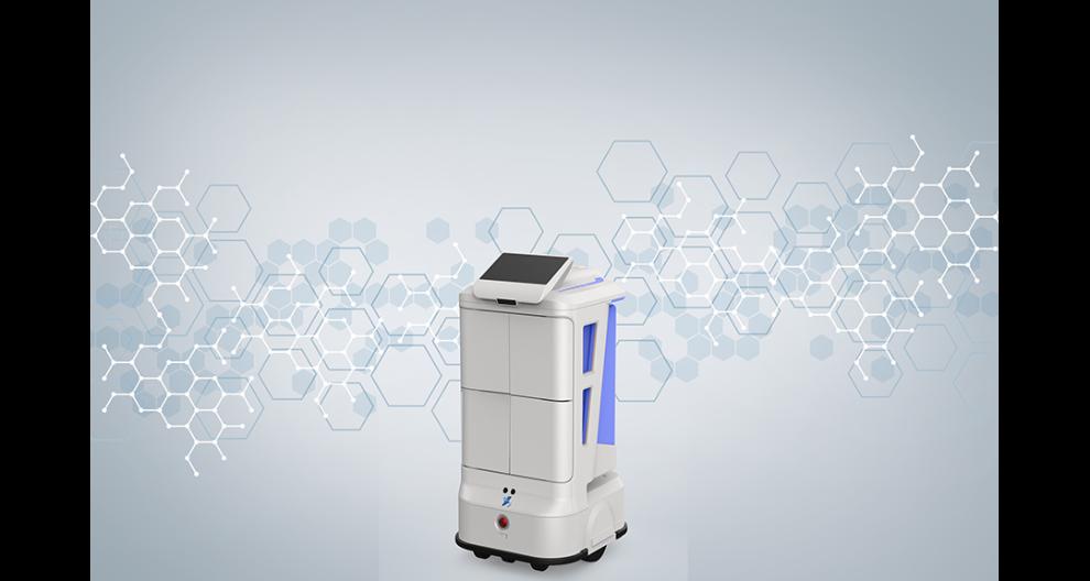 合肥智能配送機器人報價 貼心服務 昆山新正源機器人智能科技供應