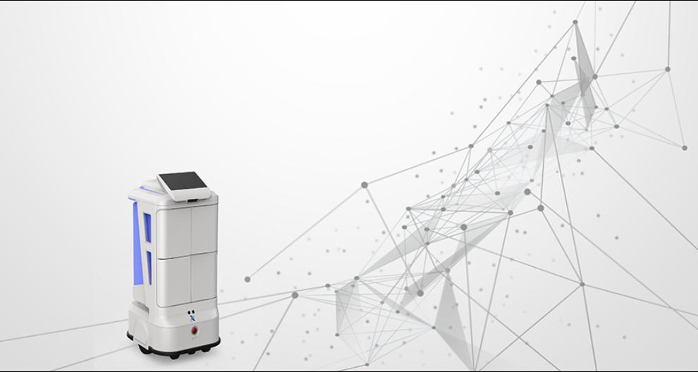 合肥無人配送機器人多少錢 昆山新正源機器人供應