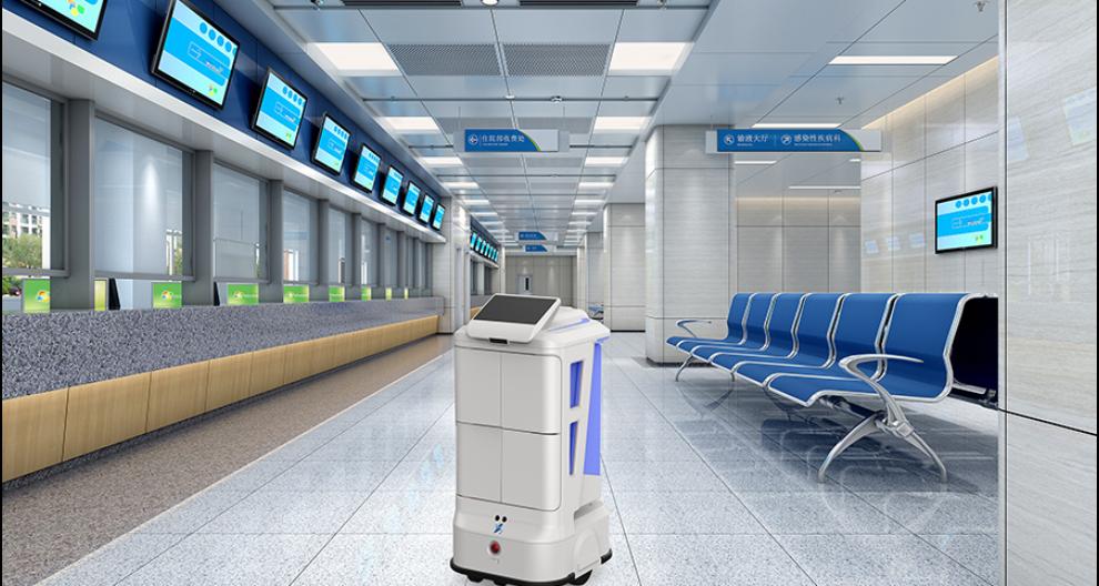 安徽非接触配送机器人怎么样 昆山新正源机器人供应