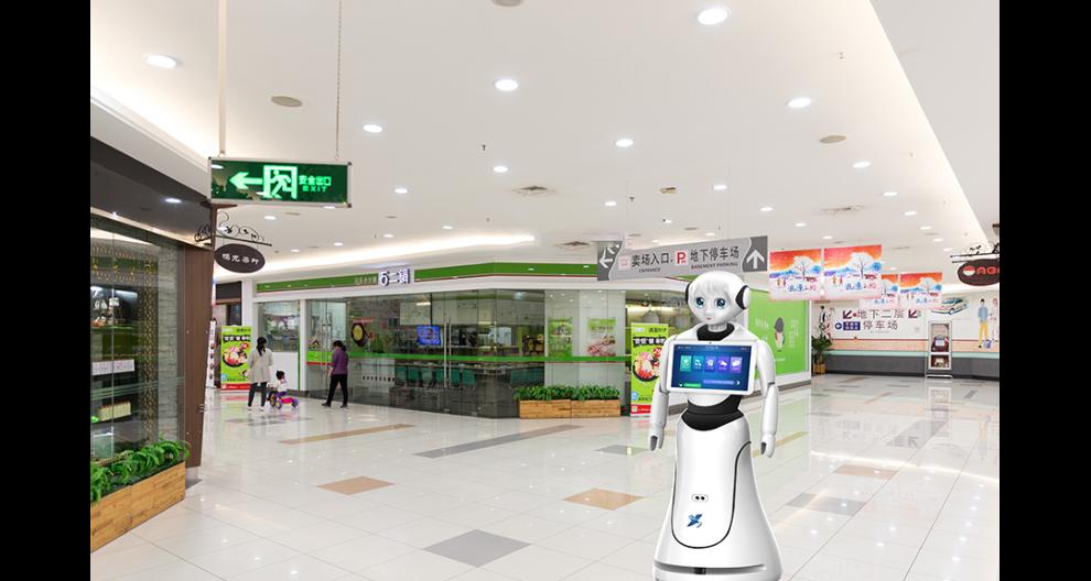 陜西智能服務大廳機器人廠家直銷 昆山新正源機器人供應