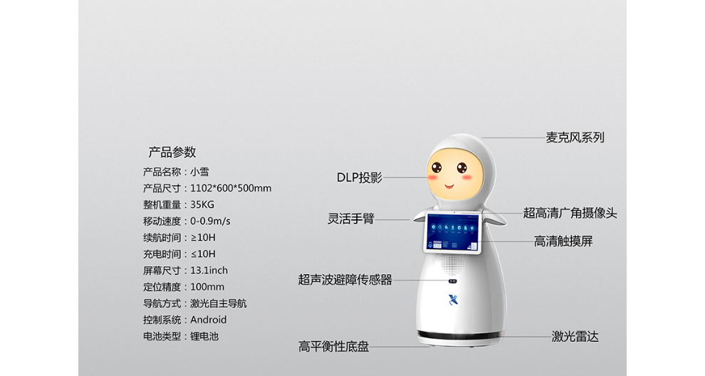 江蘇醫院大廳機器人哪家好 昆山新正源機器人供應