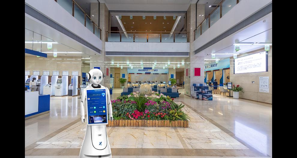 寧波智能服務大廳機器人 昆山新正源機器人供應