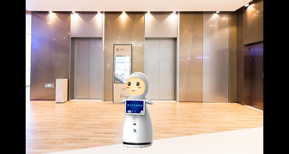 河北智能服務大廳機器人廠家直銷 昆山新正源機器人供應
