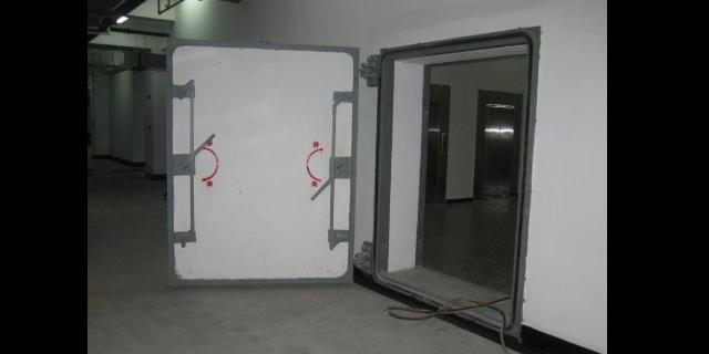 和田连通口双向防护密闭门,门