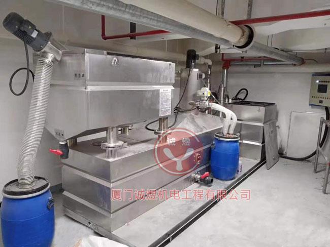 泉州厨房油水分离设备工厂直销 欢迎来电 厦门诚煜机电工程供应
