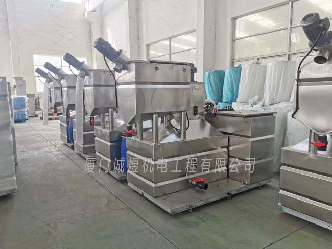 泉州厨房油水分离器厂家 欢迎来电 厦门诚煜机电工程供应