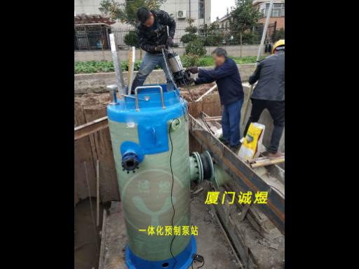 厦门一体化污水泵站厂家,泵站