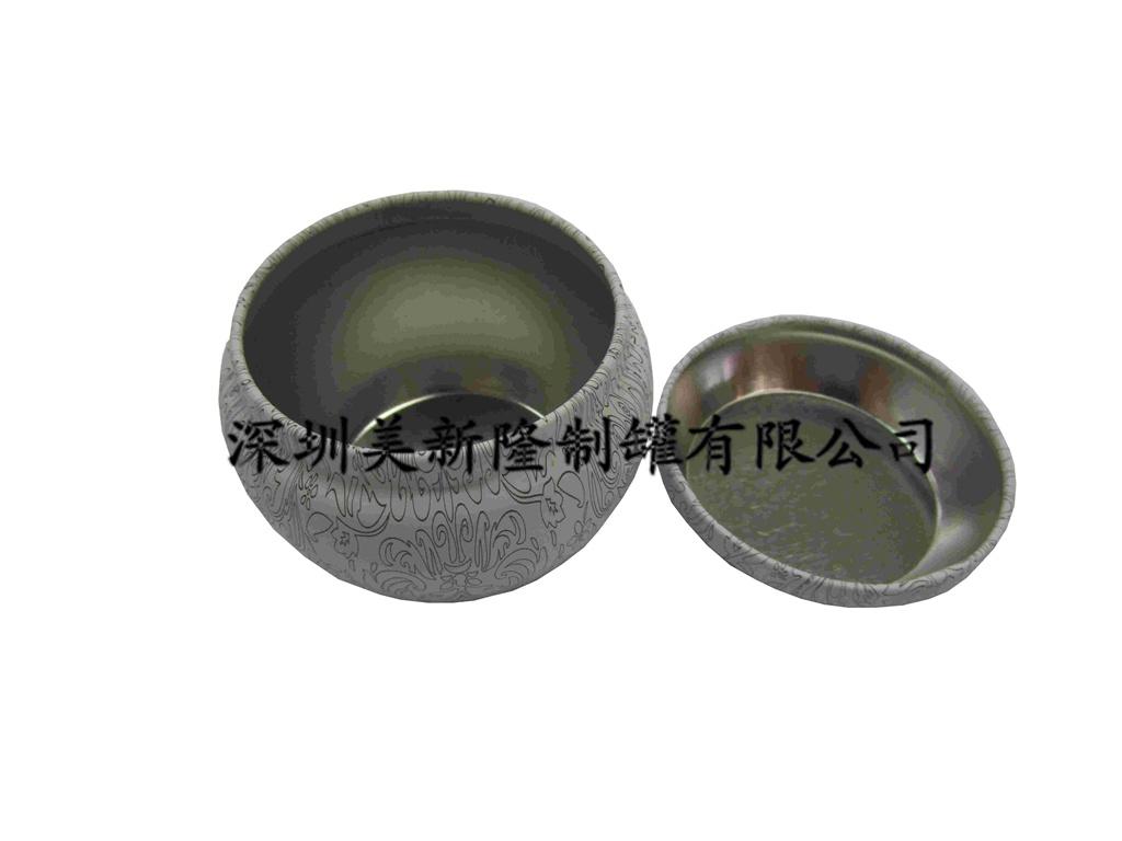 内蒙古巧克力铁罐 深圳美新隆制罐供应