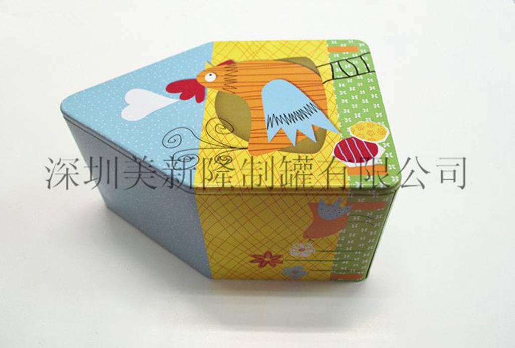 广东礼品铁盒 深圳美新隆制罐供应