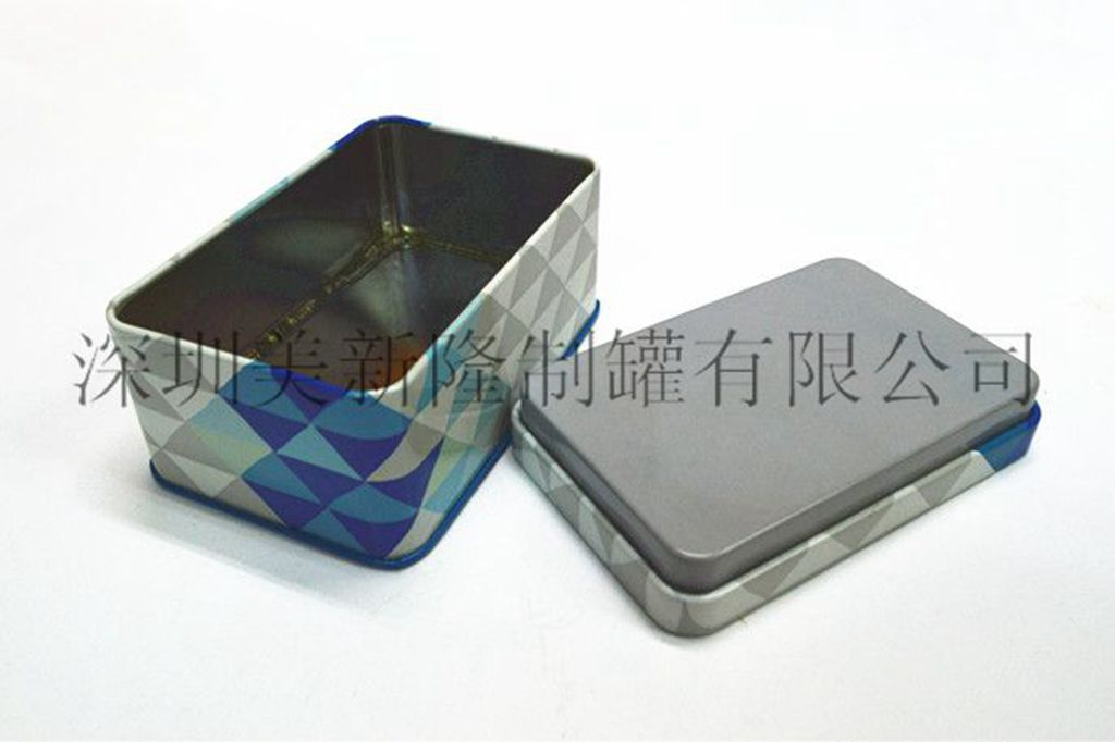 唇膏铁盒质量放心可靠 深圳美新隆制罐供应