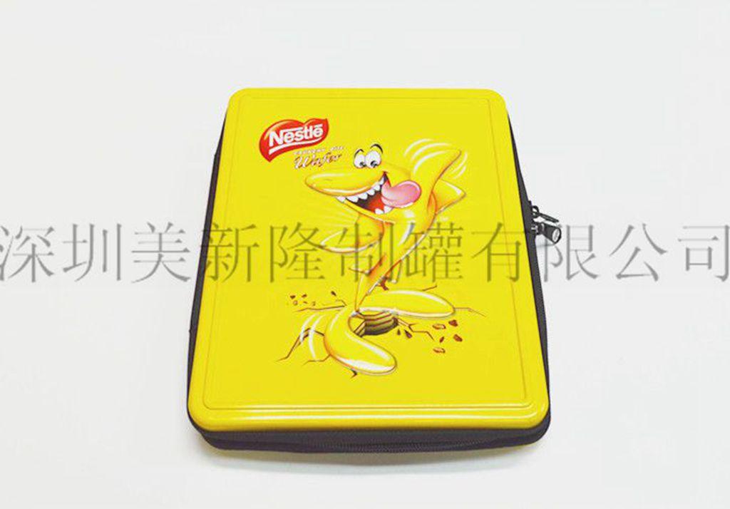 血茸铁盒客户至上 深圳美新隆制罐供应