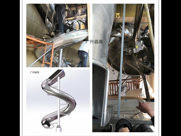 不锈钢组合滑梯,不锈钢滑梯