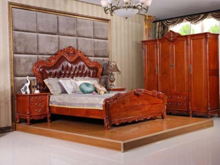佛山大厅红木床