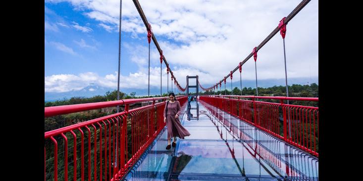 辽宁悬索桥安装,桥