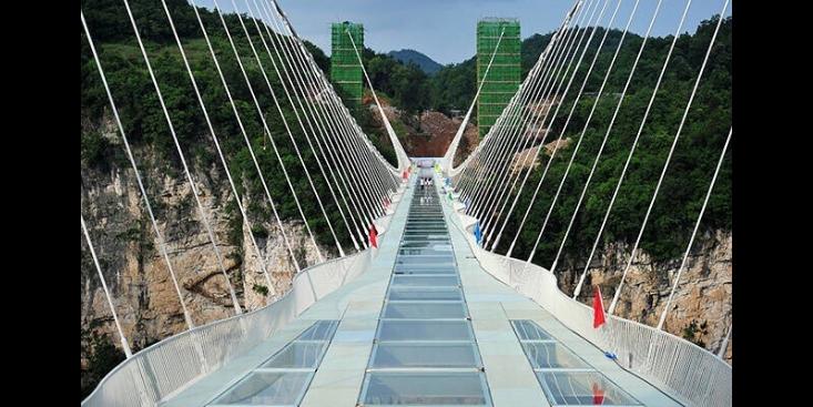 四川玻璃挑战桥安装价格