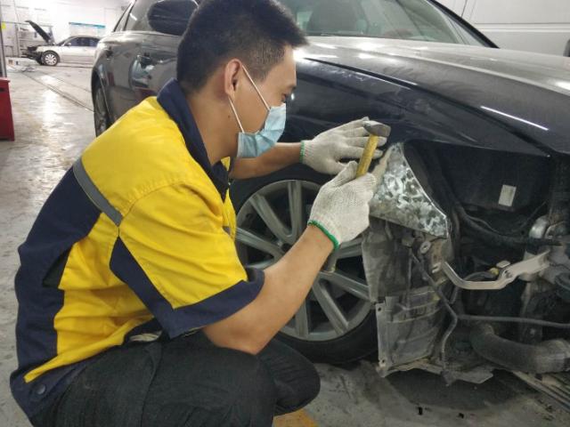 觀瀾做鈑金噴漆咨詢 歡迎來電「深圳福祥云汽車科技服務供應」