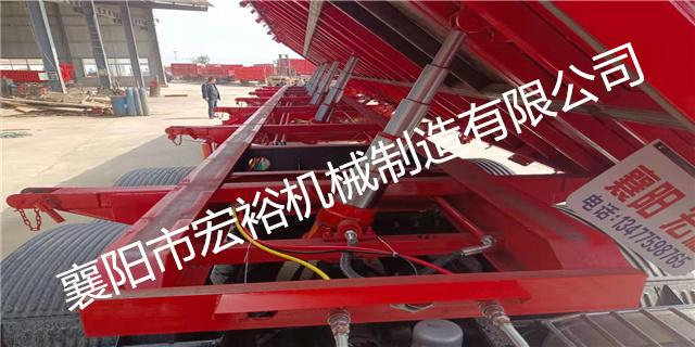 南陽8.5后翻自卸式半掛車現貨 鑄造輝煌「襄陽市宏裕機械供應」
