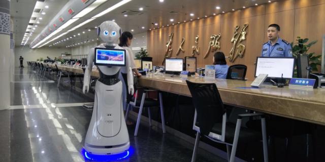 黑龙江安装服务机器人案例 客户至上 昆山新正源机器人智能科技供应