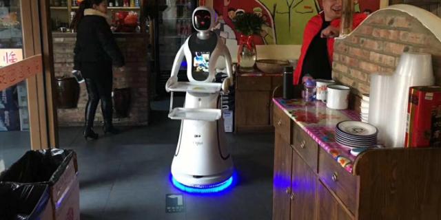 石家庄商业服务机器人 诚信服务 昆山新正源机器人智能科技供应