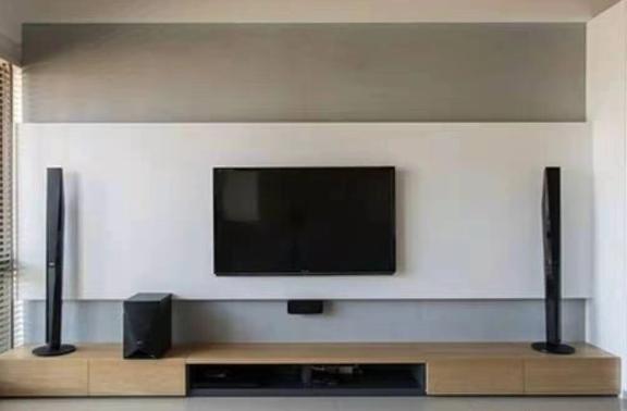 悬空电视柜打造