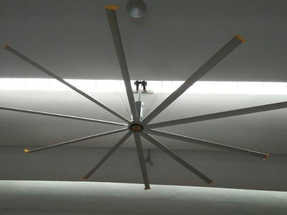 10叶工业厂房吊扇定制,工业吊扇