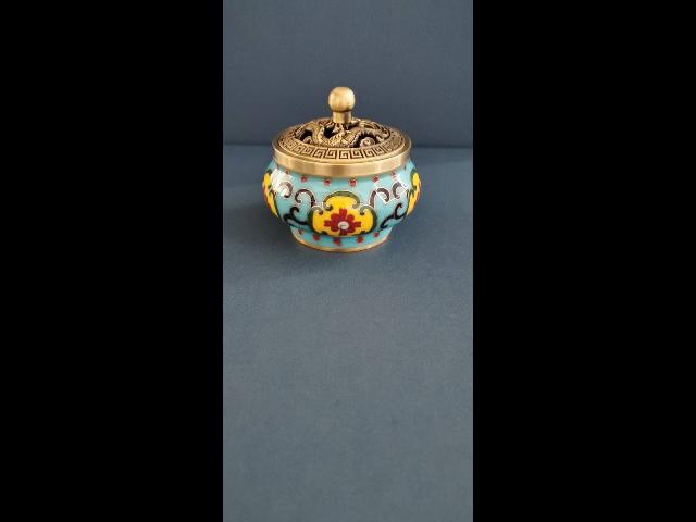 江蘇景泰藍香爐直銷