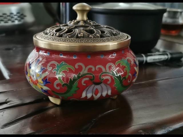 福建省怎么使用景泰蓝香炉 贴心服务「玉环九墨铜工艺品供应」