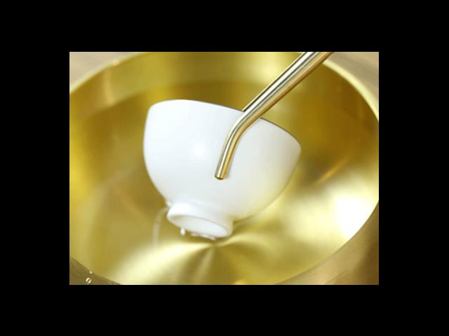 温岭市铜六君子茶具的特征,铜六君子茶具