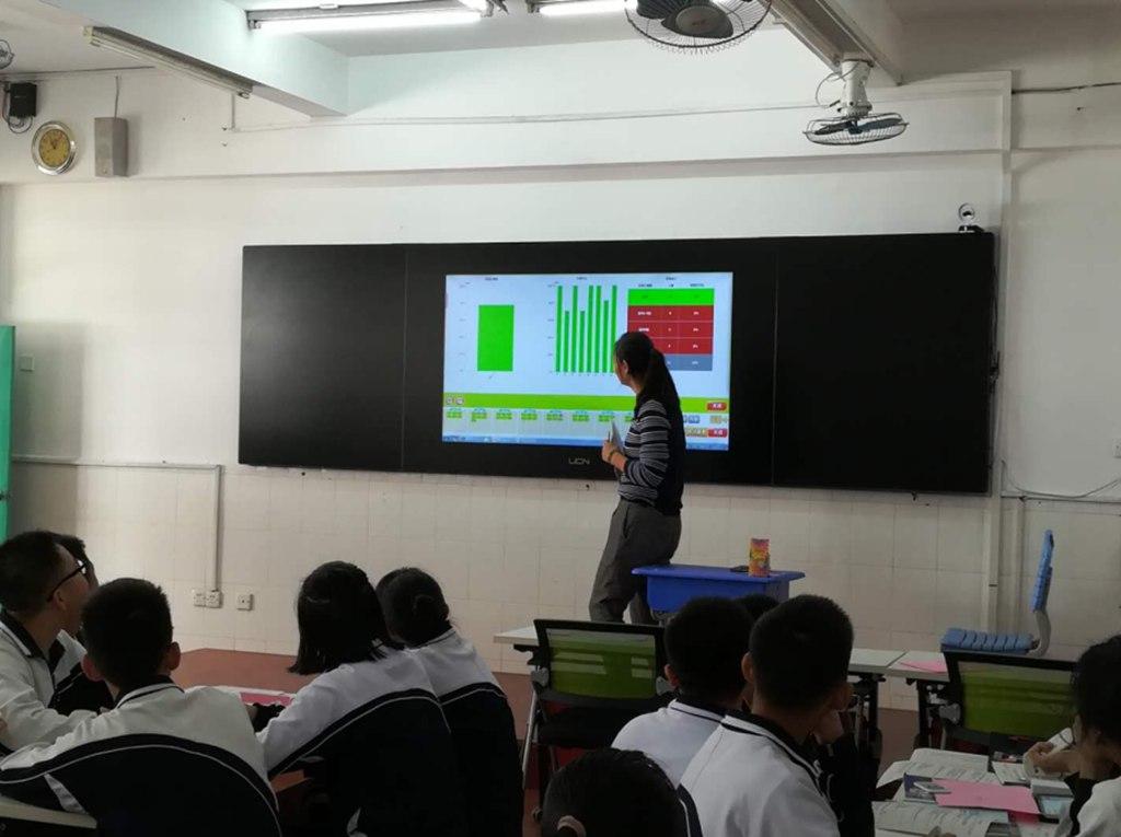 海南智慧校园互动课堂教育扶贫,互动课堂