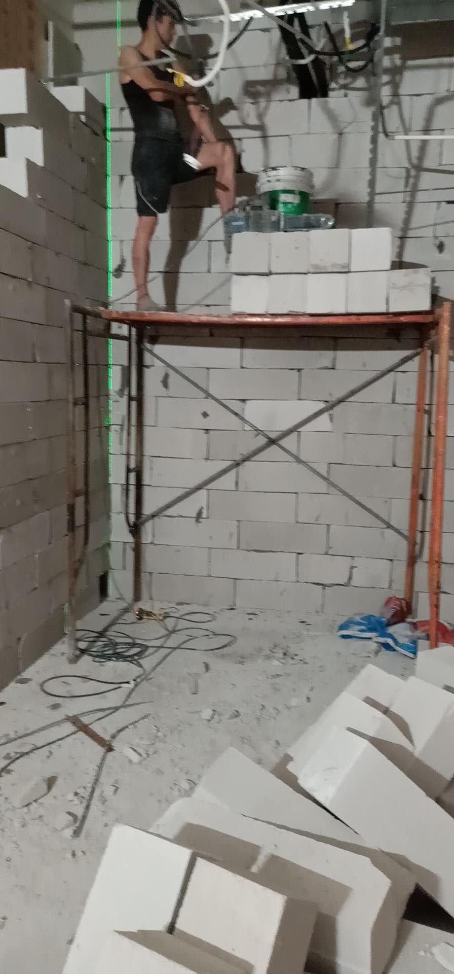 中山承包轻质砖隔墙施工安装