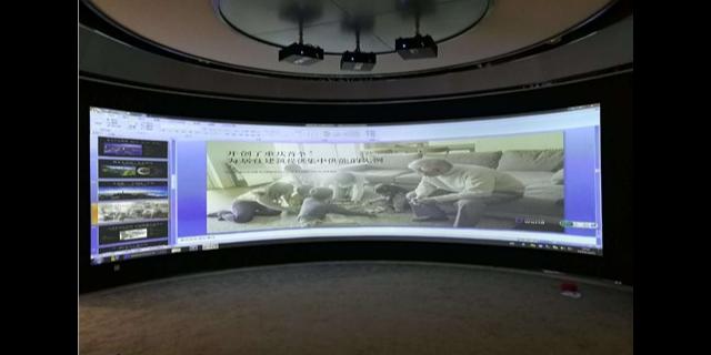湖北环形投影大屏融合哪家便宜 上海音维电子科技供应 上海音维电子科技供应
