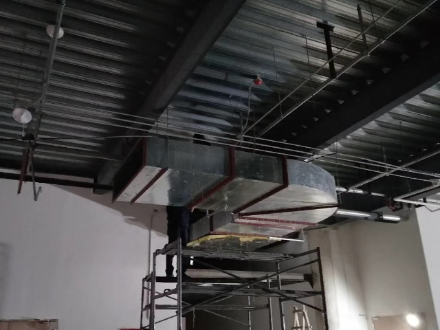 浙江餐廳不銹鋼排煙管道,排風工程