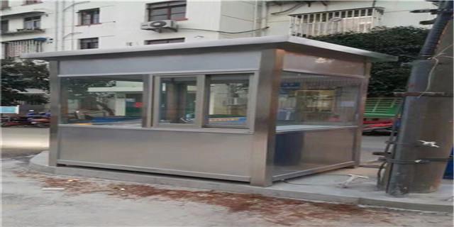 销售上海市专业不锈钢岗亭需要多少钱批发上海以筑实业供应