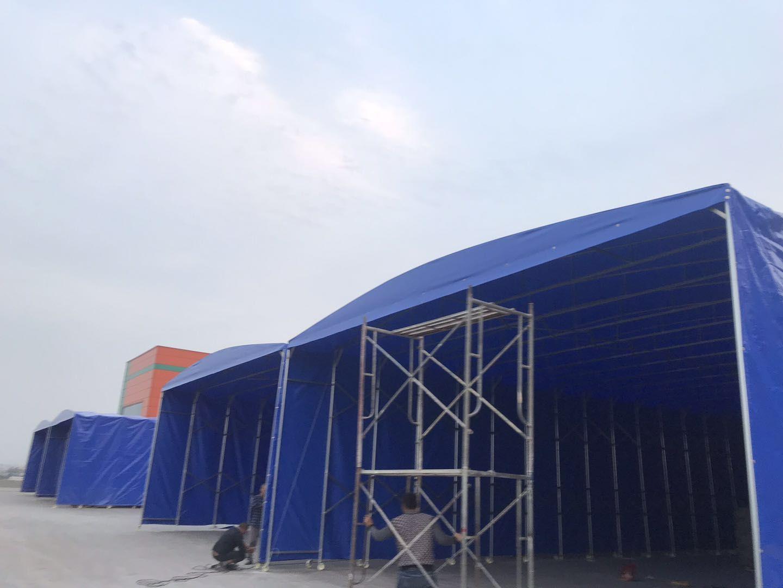 嘉定区膜结构停车棚案例「上海聿祈遮阳制品供应」