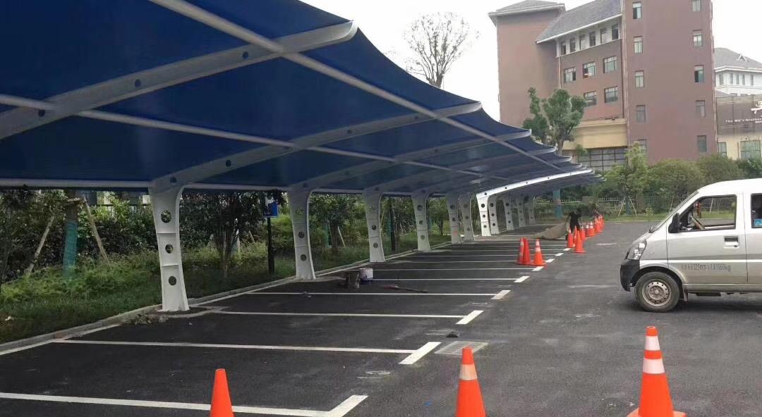 松江区膜结构停车棚上门维修「上海聿祈遮阳制品供应」