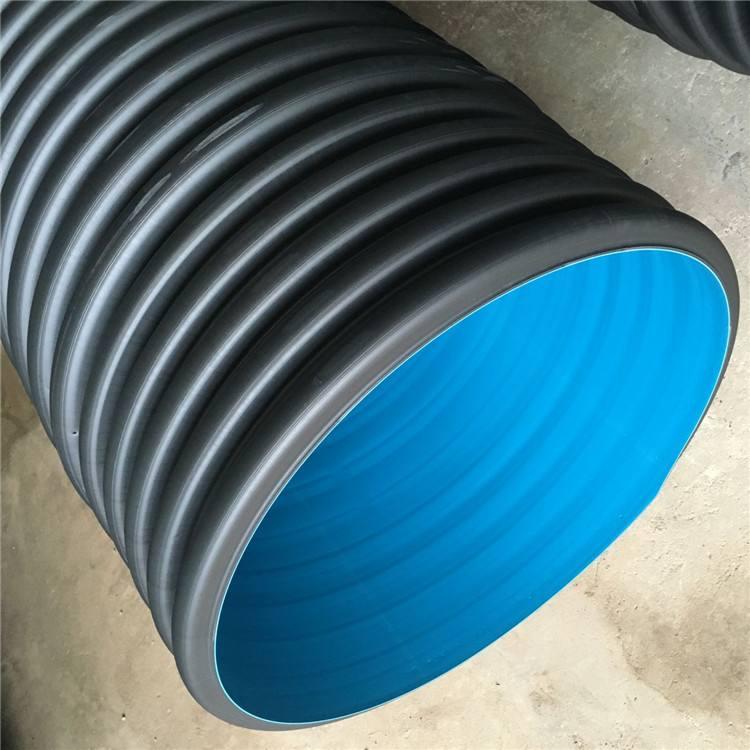 昆明PVC鋼帶雙壁波紋管生產廠家