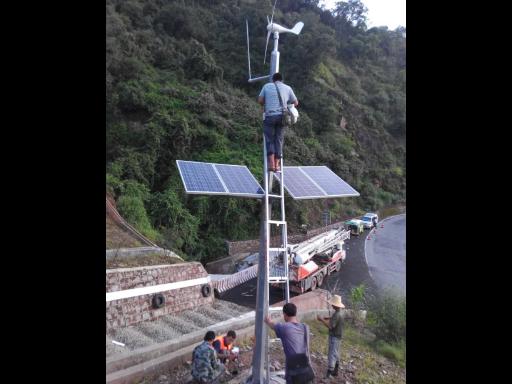 云南太陽能室外監控供電系統 服務至上 云南禹君太陽能發電供應