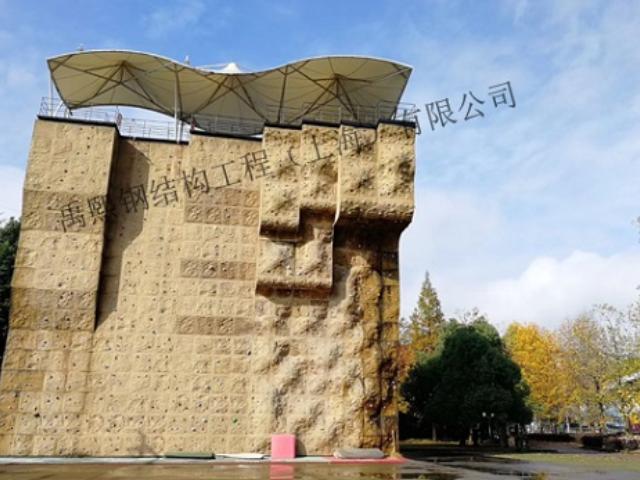奉贤区创意攀岩墙设计