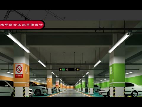 上海地下停車場設計圖紙