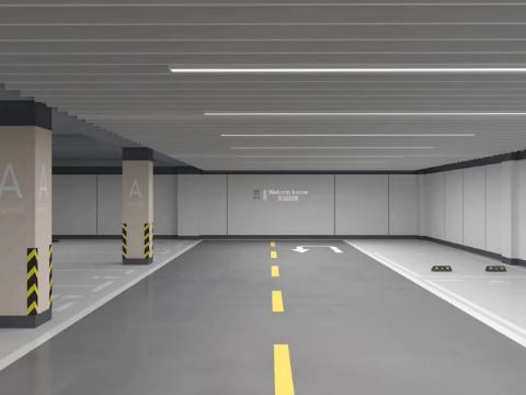小型车库标识设计公司,地下车库设计