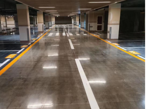 多层地下车库出入口设计平面图 服务至上 上海渊莘停车场管理供应