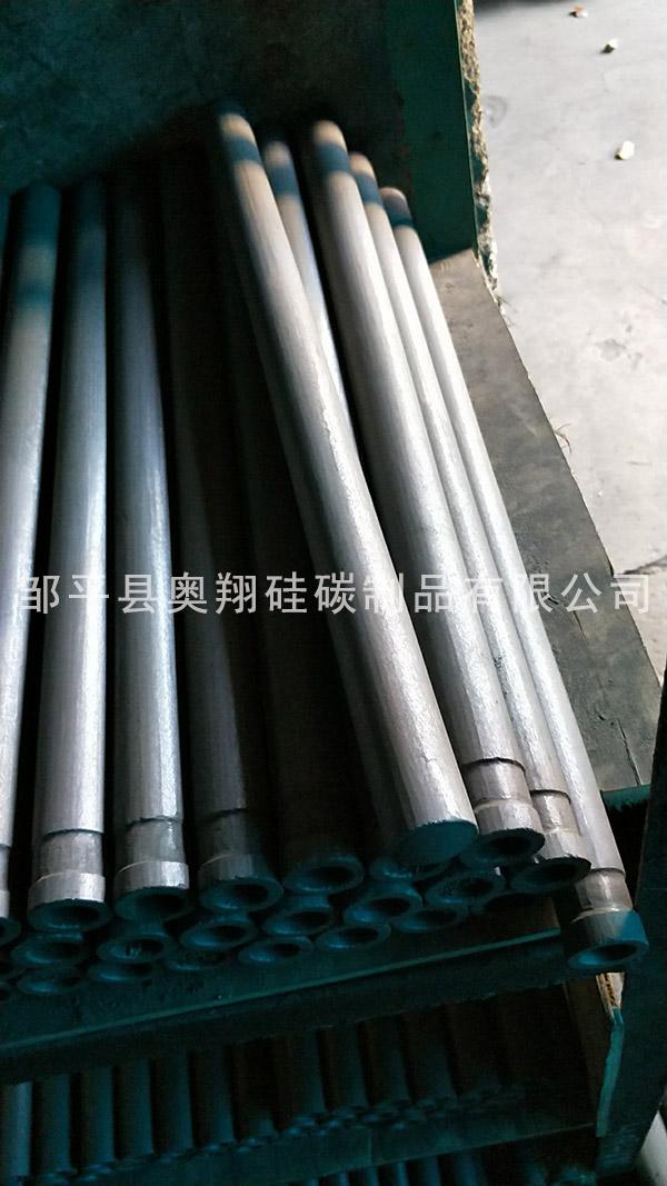 吉林用于测温碳化硅保护管经销商 邹平奥翔硅碳供应