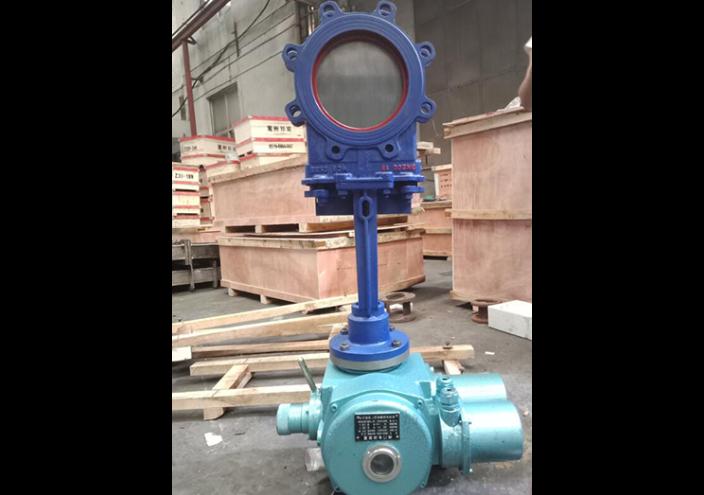 杭州PZ773TC-16C陶瓷刀形闸阀 欢迎来电「展业阀门供应」