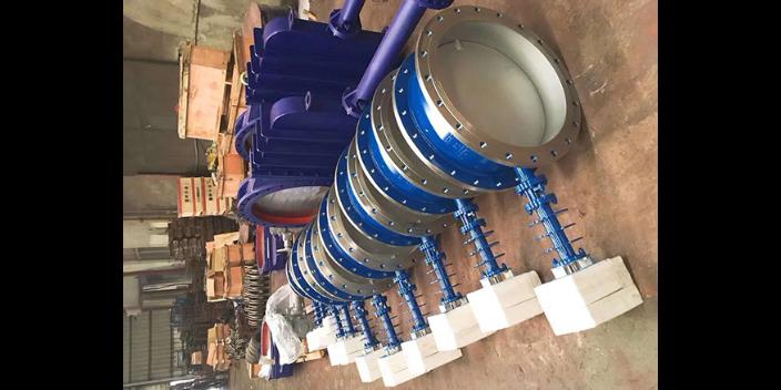 气动耐磨陶瓷插板阀DN80