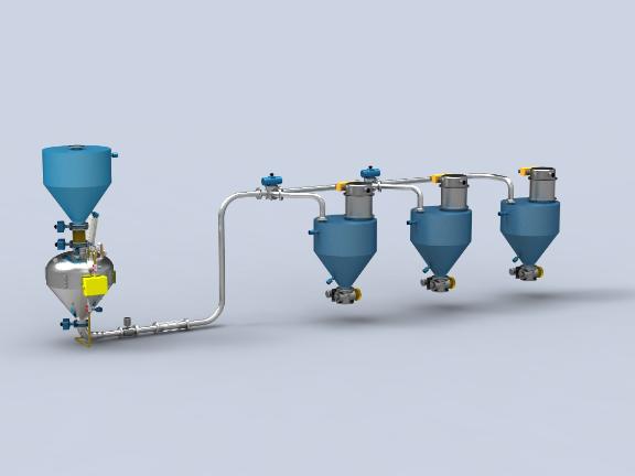 深圳正压稀相气力输送设备厂家 欢迎来电「常州智鼎粉体设备供应」