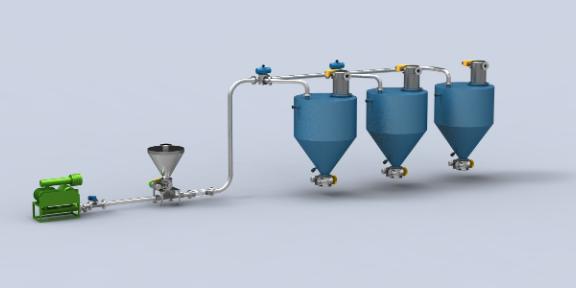 河南大型气力输送系统报价 欢迎来电 常州智鼎粉体设备供应