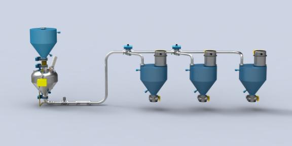 湖北负极材料气力输送机 欢迎咨询 常州智鼎粉体设备供应