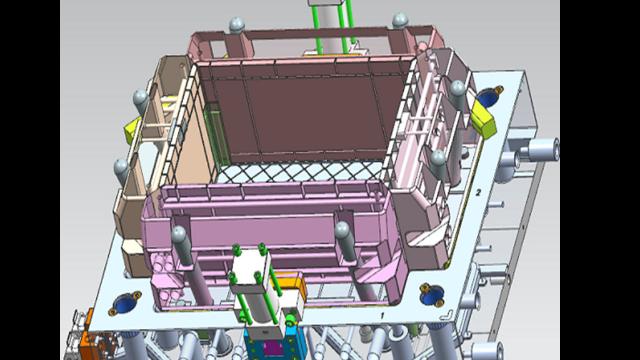 黃巖區醫療周轉箱模具,周轉箱模具